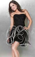 Jovani Homecoming Party Dress with Ruffle Tulle Skirt 3101 image