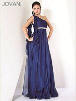Jovani Chiffon One Shoulder Evening Dress 3120 image