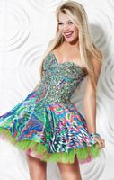 Jovani Colorful Homecoming Party Dress 3202 image
