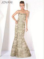 Jovani Floral Mermaid Evening Dress 337 image