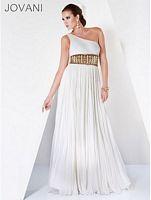 Jovani Ivory Gold Evening Dress 3386 image