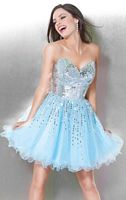 Jovani Tulle and Organza Homecoming Party Dress 3435 image