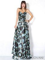 Jovani Ruffle Hem Pageant Dress 3441 image