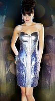 Mac Duggal Evening Metallic Club Dress 3450T image