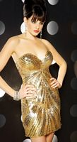 Mac Duggal Evening Sparkly Sequin Mini Cocktail Dress 3461T image