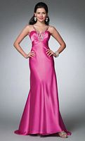 Alfred Angelo Prom Dress with Beading and Keyhole 3504 image
