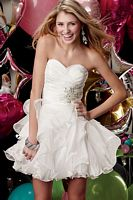 Alyce Sweet Sixteen Bat Mitzvah Party Dress 3545 image