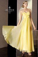 Alyce BDazzle 35500 Iridescent Silky Chiffon Formal Dress image