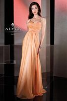 Alyce BDazzle 35501 Iridescent Chiffon Strappy Back Gown image