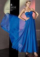 Alyce BDazzle 35536 Silky Chiffon Corset Back Evening Dress image