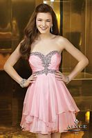 Alyce Sweet Sixteen Short Asymmetrical Dress 3554 image