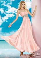 Size 6 Rosewater Alyce BDazzle 35579 Pleated Bodice Formal Dress image