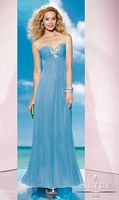 Size 12 Blue Alyce 35598 BDazzle Crystal Beaded Evening Dress image