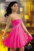 Alyce 3560 Sweet Sixteen Short Dress with Sequins image