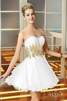 Alyce Sweet Sixteen 3580 Sequin Tulle Short Dress image