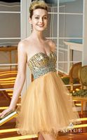 Alyce Sweet Sixteen 3581 Beaded Tulle Short Dress image