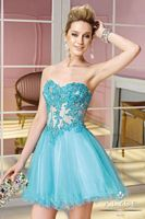 Alyce Sweet Sixteen 3582 Sheer Short Party Dress image