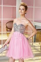 Size 6 Cotton Candy Alyce Sweet Sixteen 3584 Short Party Dress image