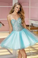 Alyce Sweet Sixteen 3589 Short Sweetheart Dress image