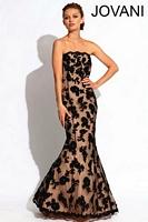 Jovani 361237 Beaded Lace Mermaid Dress image