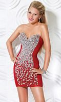 Jovani Beaded Cocktail Dress for Homecoming 3645 image