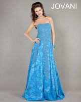 Jovani Floral Beaded Evening Gown 3652 image