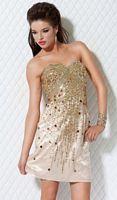 Jovani Short Sequin Homecoming Dress 368 image