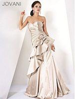 Jovani Ruffle Evening Dress 3829 image