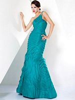 Jovani Teal Evening Dress 3834 image