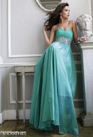 Sherri Hill 3909 Ruched Crystal Evening Dress image