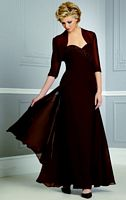 Caterina by Jordan Chiffon Mother of the Bride Jacket Dress 4042 image