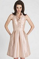 Alexia Designs 4110 Short Ruffle Bridesmaid Dress image