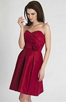 Alexia Designs 4116 Strapless Short Bridesmaid Dress image