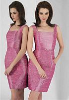 Alexia Designs 118L Shantung Bridesmaid Gown image