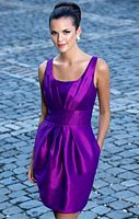 Alexia Designs 4126 Sleeveless Short Bridesmaid Dress image