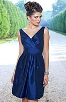 Alexia Designs 4128 Empire Short Bridesmaid Dress image