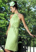 Alexia Designs 138L Long Halter Bridesmaid Dress image