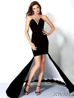 Jovani High Low Cocktail Gown 4228 image