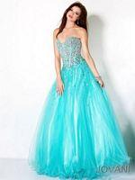 Jovani Beaded Corset 4243 Formal Dress image