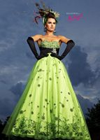 c4627adc281 Ballgowns by MacDuggal Prom Dress with Flower Appliques 42433H
