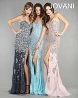 Jovani Sweetheart Gown 4247 with Beading image