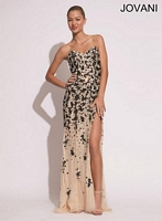 Jovani 4249 Gown with High Slit image