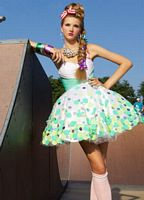 BabyDoll by MacDuggal Lady Gaga Short Prom Dress 42503B image