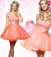 MacDuggal Homecoming Short Baby Doll Party Dress 42505BN image