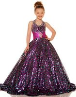 Sugar by Mac Duggal Girls Pageant Dress 42617S image