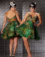 Fabulouss Plus Size Short Flirty Prom Dress by MacDuggal 42723F image