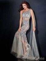 Jovani One Shoulder Mermaid Dress 4275 image