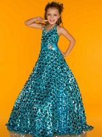 Sugar by Mac Duggal 42879S Glitzy Girls Pageant Dress image
