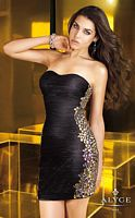 Alyce Short 4328 Homecoming Dress image