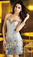 Alyce Short 4336 Paillettes Sequin Dress image